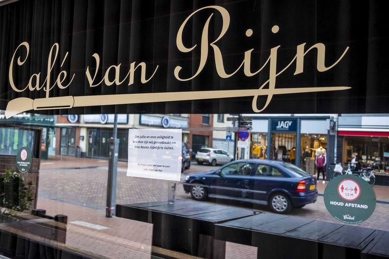 Studentencafé Van Rijn in Nijmegen. Beeld ANP