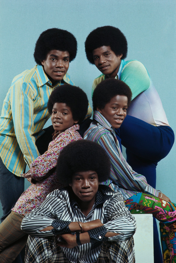 The Jackson 5 met Jermaine, Michael, Marlon, Tito en Jackie Jackson.