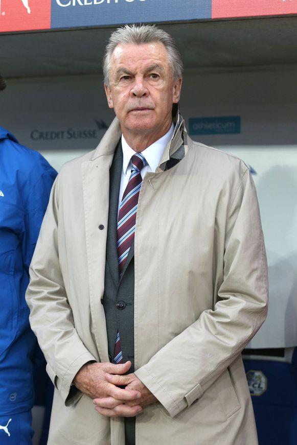 Ottmar Hitzfeld is klaar voor zijn laatste kunststukje als Zwitsers bondscoach.