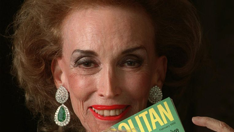 Helen Gurley Brown stierf op 90-jarige leeftijd. Beeld AP