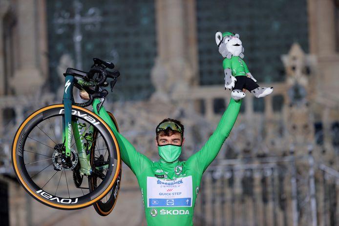Fabio Jakobsen kroonde zich onder meer met drie ritzeges tot de beste sprinter van de afgelopen Vuelta.