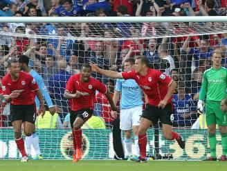 Manchester City verkijkt zich lelijk op Cardiff City: 3-2