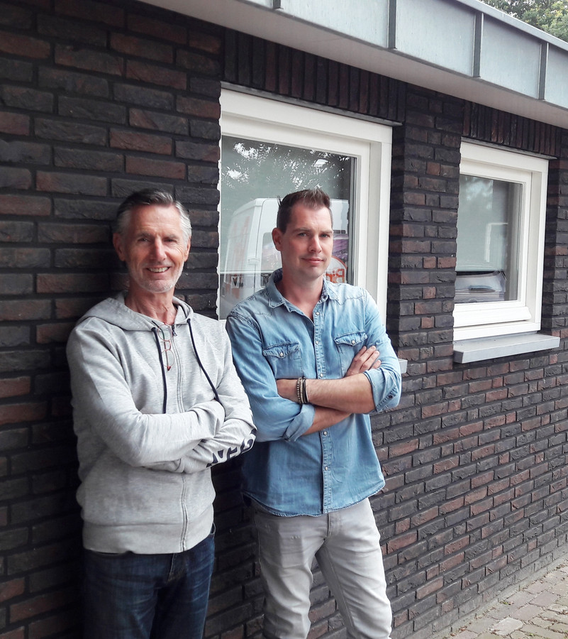 Rien (links) en Kaj van Gerven.