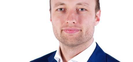 Koen Kegel is de lijsttrekker van D66 in Vlaardingen
