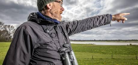Vogelaar Gerrit Gerritsen uit Zwolle slaat opnieuw alarm: de grutto verdwijnt uit Nederland