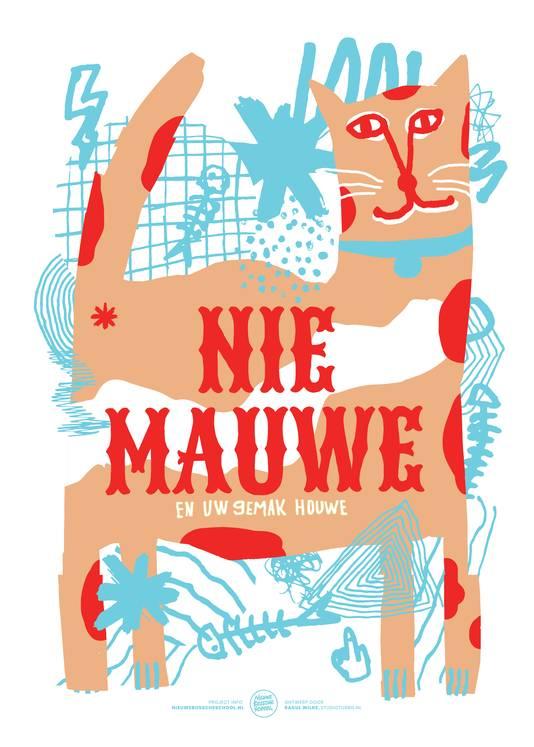 'Nie Mauwe' van Raoul Wilke is één van de 16 nieuwe ontwerpen.