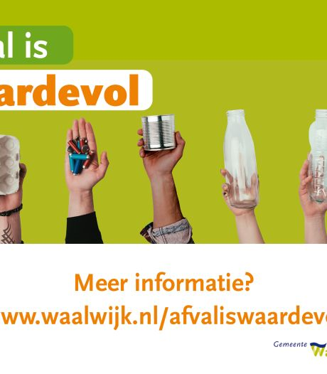 Afval scheiden blijft lastig: Waalwijk lanceert grote campagne