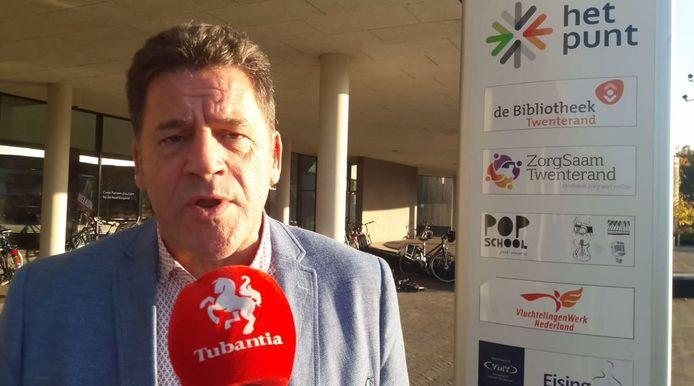 Wethouder Roel Koster in (een eerder) gesprek met Tubantia.nl.
