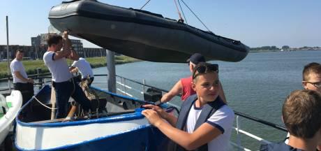 Zeekadetkorps Nederland 'kaapt' Bataviahaven