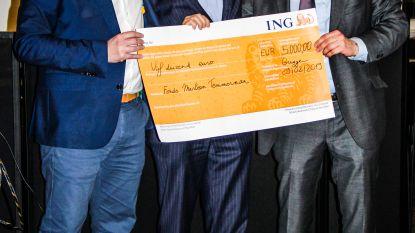 Jarige notaris zamelt 5.000 euro in voor Fonds Marleen Temmerman