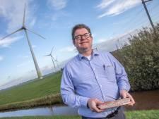 Windesheim in Zwolle geeft afgedankte windmolenwiek tweede leven