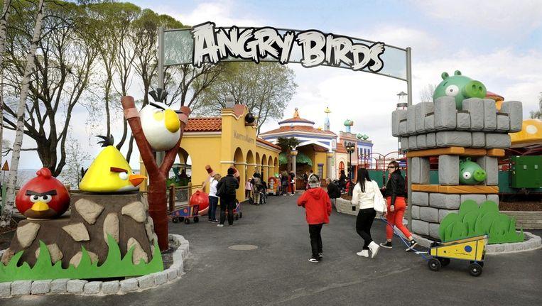 In Tampere, Finland, is al een klein Angry Birds-pretpark Beeld epa