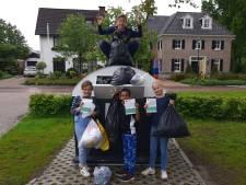 Textielrace op scholen in Delden en Goor: 'In het lokaal ligt al een grote berg T-shirts en broeken'