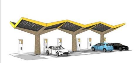 De Bossche Groenen wil snellaadstations, maar dan niet in het Kanaalpark