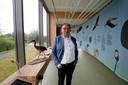 Directeur-bestuurder Peter-Jan van Steenbergen in het nieuwe Vogeltheater bij Kinderdijk.