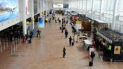 Gebouw in opbouw deels ingestort op luchthaven Zaventem: 3 lichtgewonden