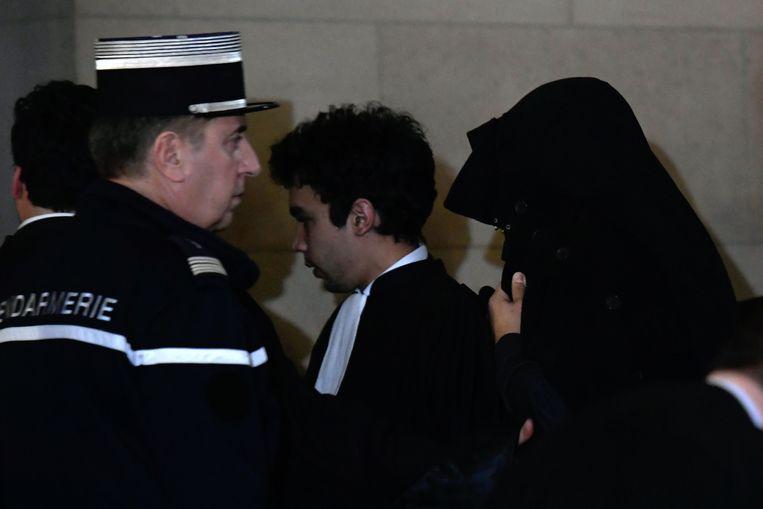 Na diens eerdere vrijspraak start nu het proces in beroep tegen Jawad Bendaoud.  Beeld AFP