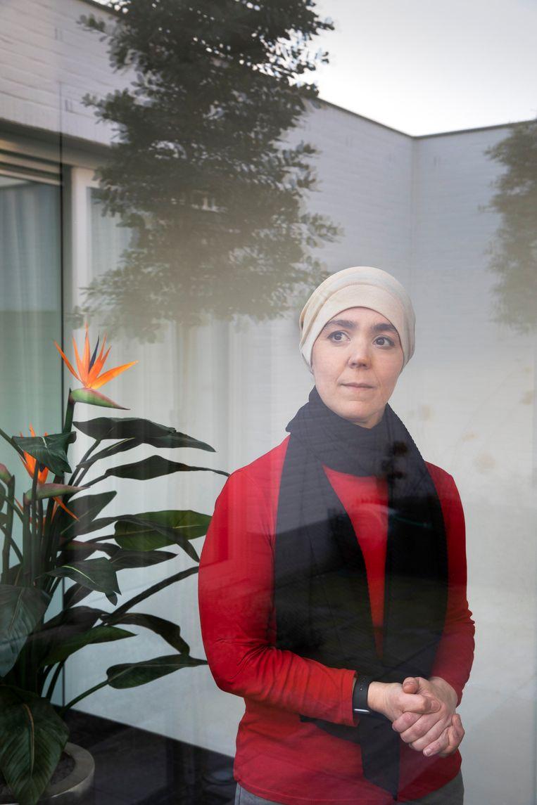 Esmah Lahlah (41) is sinds 2018 wethouder in de Gemeente Tilburg Beeld Ton Toemen
