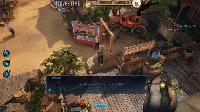In 'Gamedec' speel je een detective in virtuele werelden. In een digitaal westernuniversum, bijvoorbeeld.