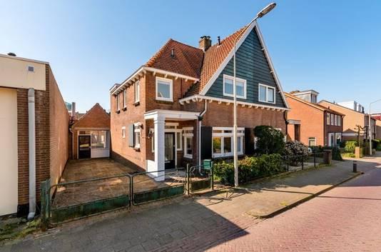De woning aan de Harnjesweg 40 in Wageningen.