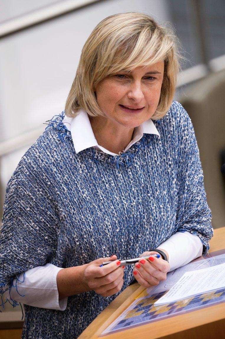 Onderwijsminister Hilde Crevits (CD&V). Beeld Photo News