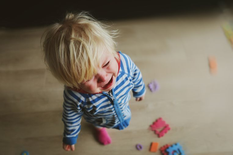 Volgens de onderzoekers van Harvard maakt het op langere termijn voor de ontwikkeling van de hersenen van een kind niet uit welk soort geweld je gebruikt.  Beeld RV