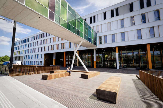 Het nieuwe Prinses Maxima Centrum voor kinderoncologie.