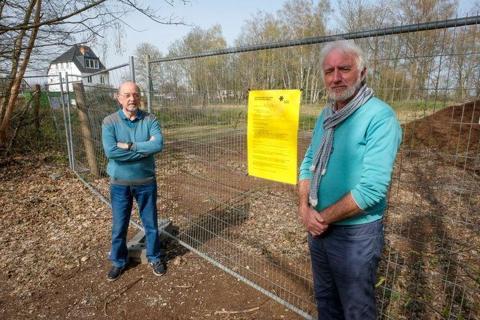 De leden van Sterrebeek2000, met voorzitter Luc Caluwaerts (links), zijn tevreden dat de vergunning vernietigd werd.