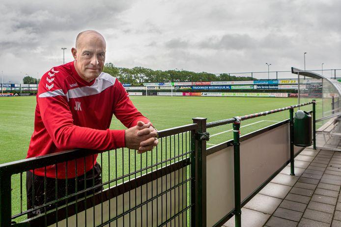 Breda - 18-08-2021 - Pix4Profs / Johan Wouters - John Karelse, trainer van het eerste elftal van Achilles Veen.