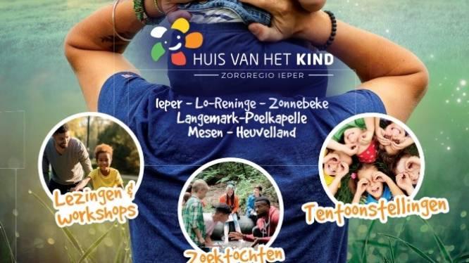 Huis van het Kind zorgregio Ieper organiseert activiteiten voor Week van de Groeilamp
