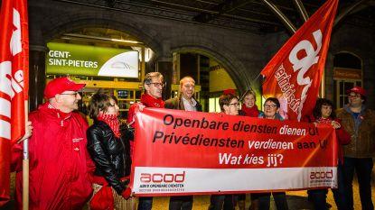 Socialistische bond bezorgd over veiligheid tijdens spoorstaking
