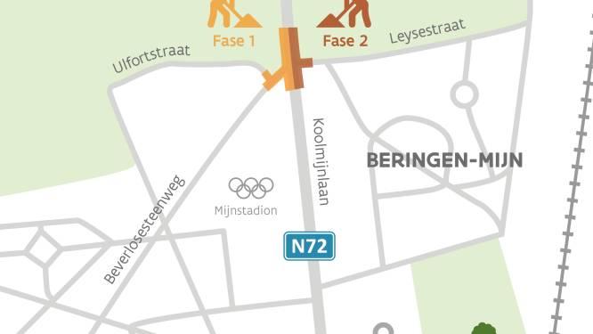 Rotonde aan Koolmijnlaan wordt aangelegd, omleiding tot het najaar