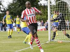 Mathias Pogba traint mee bij FC Eindhoven, maar raakt geblesseerd
