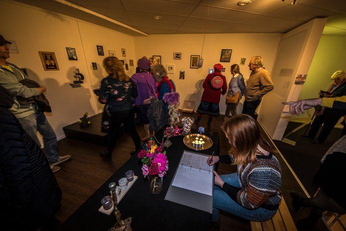 De laatste dag van HeArtgallery, in 2019. Lowie Gilissen vindt dat de kunst gebaat is bij een representatieve huisvesting.
