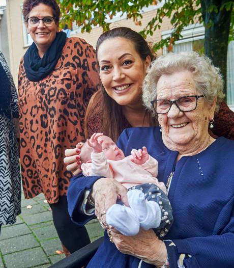 Vijf generaties van hetzelfde geslacht met sterke familieband in Herpen