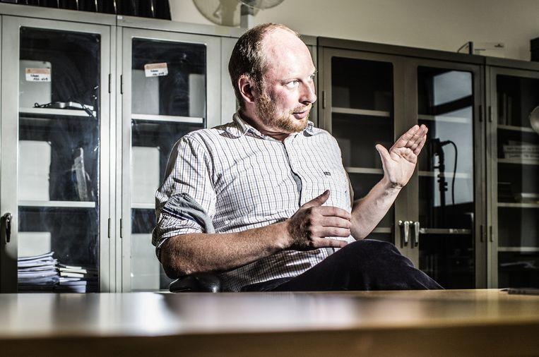 Economiefilosoof Rogier De Langhe (UGent) maakt deel uit van ons 'kernkabinet', een groep van vier jonge denkers die beurtelings een essay schrijven voor 'Zeno'.  Beeld Franky Verdickt