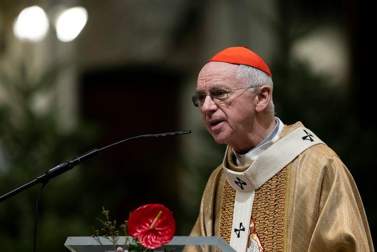 Kardinaal Jozef De Kesel. Beeld BELGA