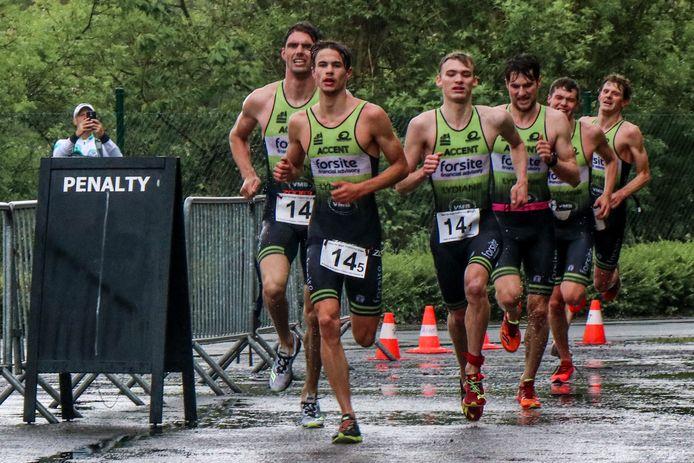 De mannenploeg  van TDL Forsite liep in 2019 naar de eerste Belgische titel ploegentriatlon. Zij blijven voorlopig titelhouder bij de mannenploegen, want het BK ploegentriatlon wordt voor het tweede jaar op rij geannuleerd.