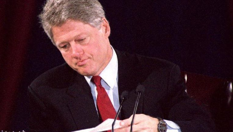 Bill Clinton in 1992 Beeld ANP