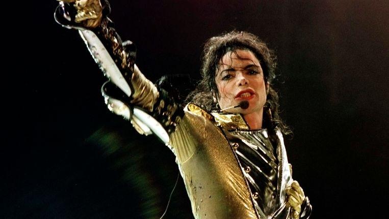 Michael Jackson in 1997. Beeld REUTERS