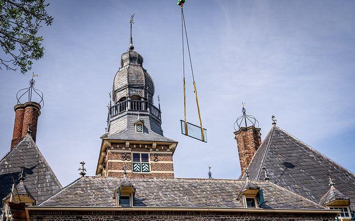 De toren van kasteel Wijchen is de beoogde plek voor een carillon.