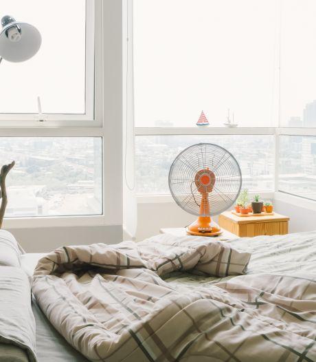 Hittegolf in aantocht: zo houd je de slaapkamer koel