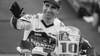 Portugese motorrijder (40) komt om het leven tijdens Dakar Rally