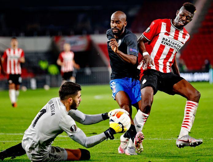 Ibrahim Sangaré eerder dit seizoen tijdens het uitduel met het Spaanse Granada.