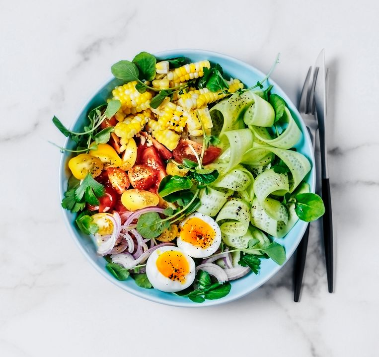 Salade Beeld Getty Images
