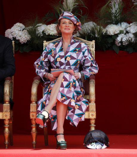 'Nieuwe' prinses Delphine voor het eerst op Belgische feestdag