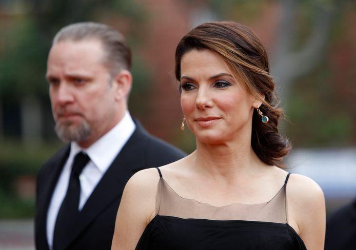 Sandra en haar ex-man Jesse.