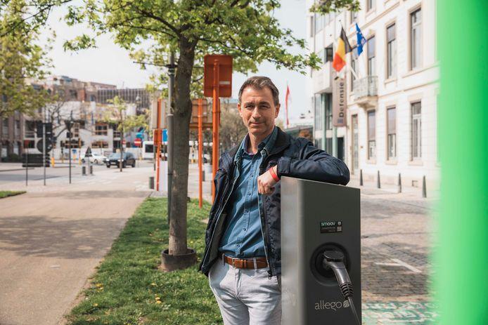 """De stad rolt een nieuw beleidsplan uit om van Hasselt een duurzame en gezondere stad te maken. """"Daarvoor is het noodzakelijk om onze manier van verplaatsen te veranderen"""", aldus schepen Marc Schepers."""