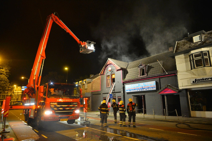 Brand in de Piramid in Valkenswaard.