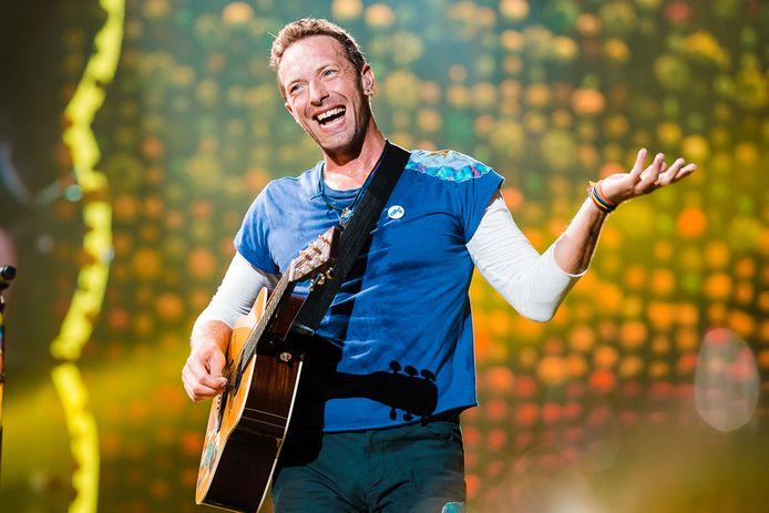 Coldplay-frontman Chris Martin.